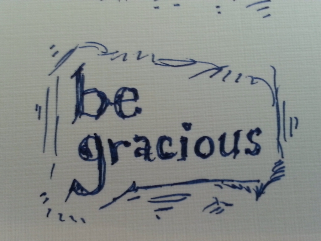Image result for be gracious