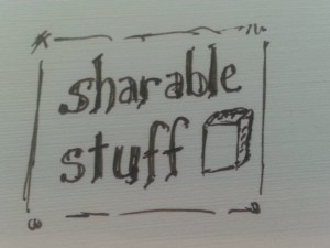 sharable stuff