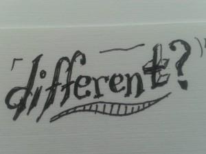 different ?