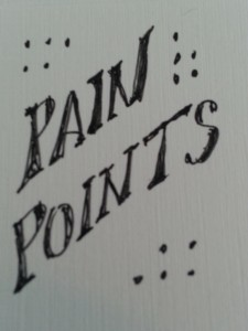 identify your customer's pain points & address them