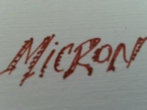 micron pen
