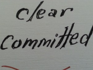 clear & committed