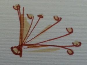 left bottom corner twigs
