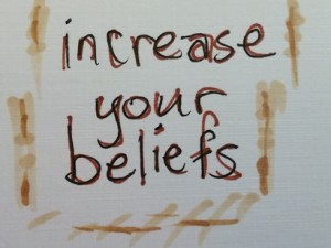 increase your beliefs