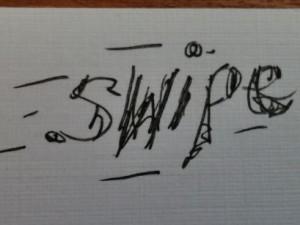 swipe more